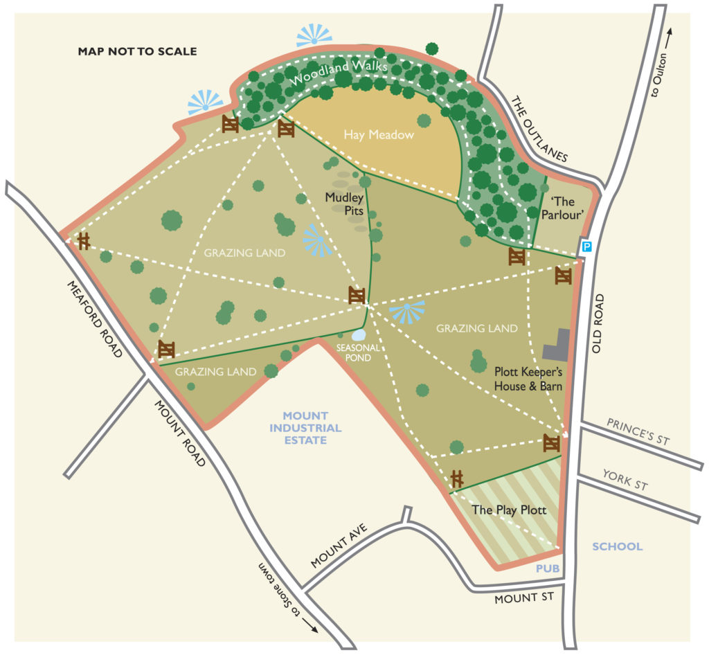 access map of stone common plot