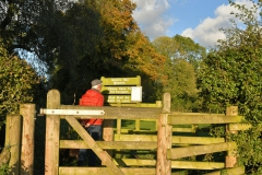 Entrance to the Natural Hay Meadow